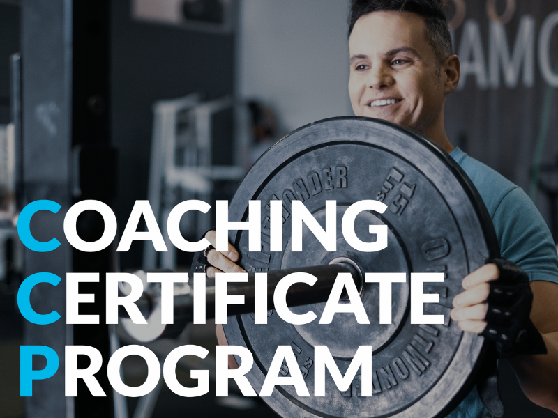 Coaching Certificate program Coach with Barbell