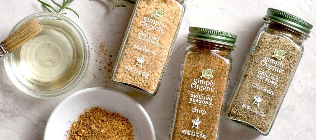Organic Spices help make food taste better