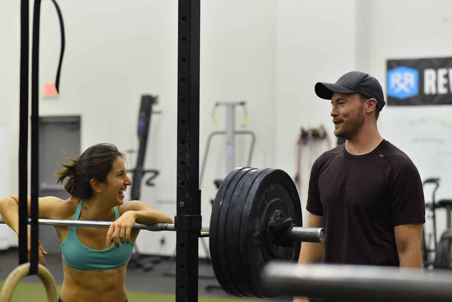 Strong relationships between coach and client with lead to long time success in fitness