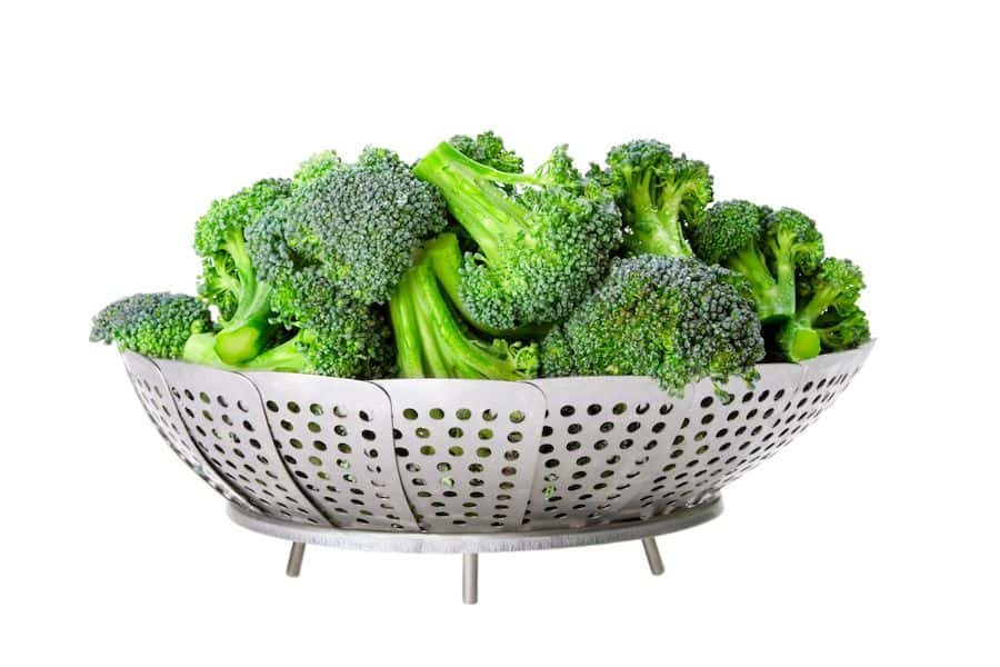 Steaming vegetables is the easiest and best for food prep