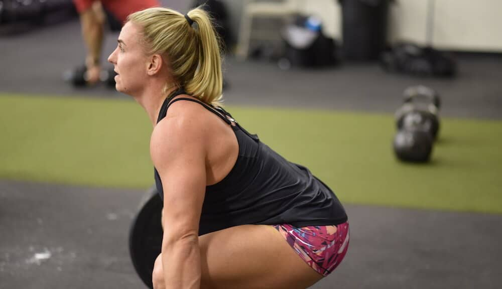 Tennil is 1 and done for the first CrossFit Open workout. She is back to training the olympic lifts.