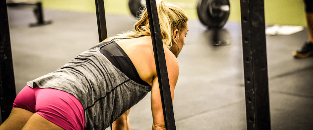 Tennil Reed is training hard as she get ready for the CrossFit® Regionals