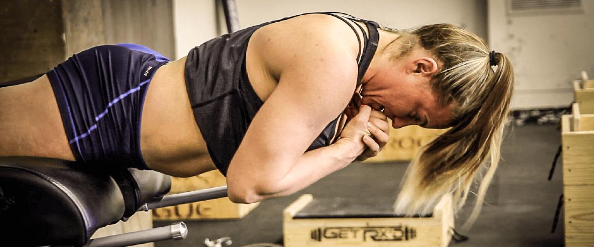 Tennil Reed preparing for the 2018 CrossFit® Regionals