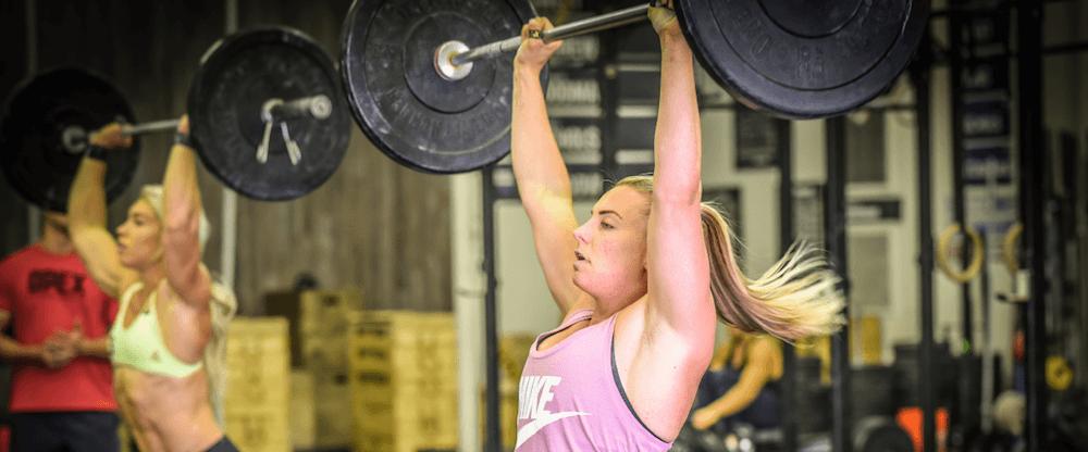 Tennil Reed preparing for the 2018 CrossFit Regionals