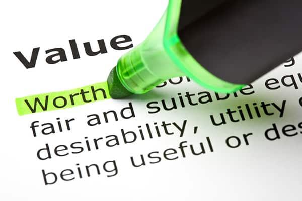value blog