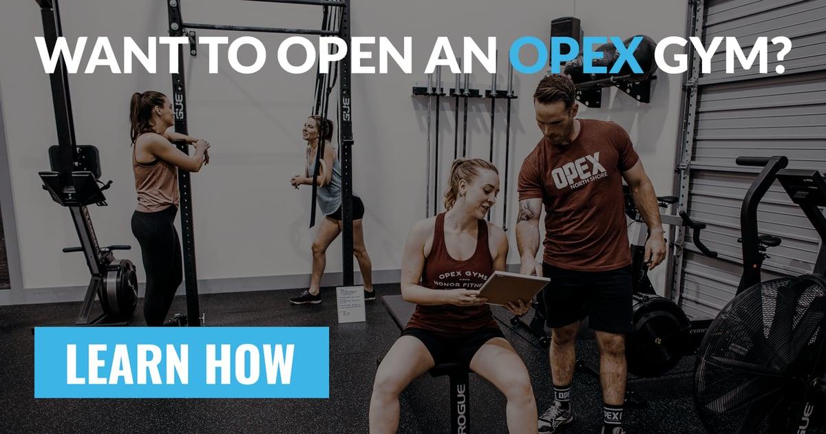 Open an OPEX Gym