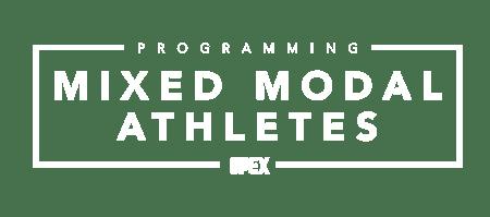Programming: Mixed Modal Athletes