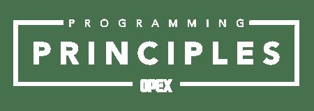 Programming: Principles Course Logo