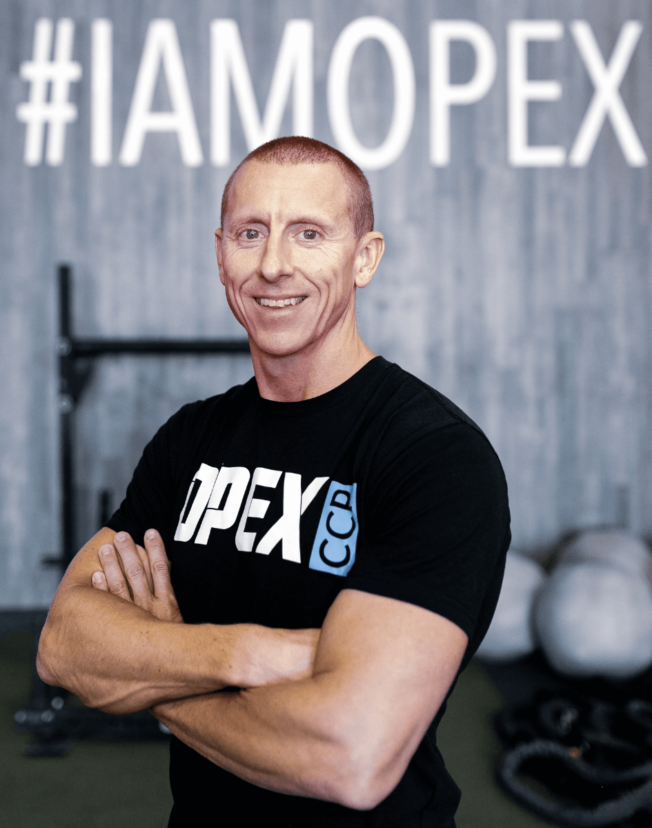 James FitzGerald in OPEX Gym CCP