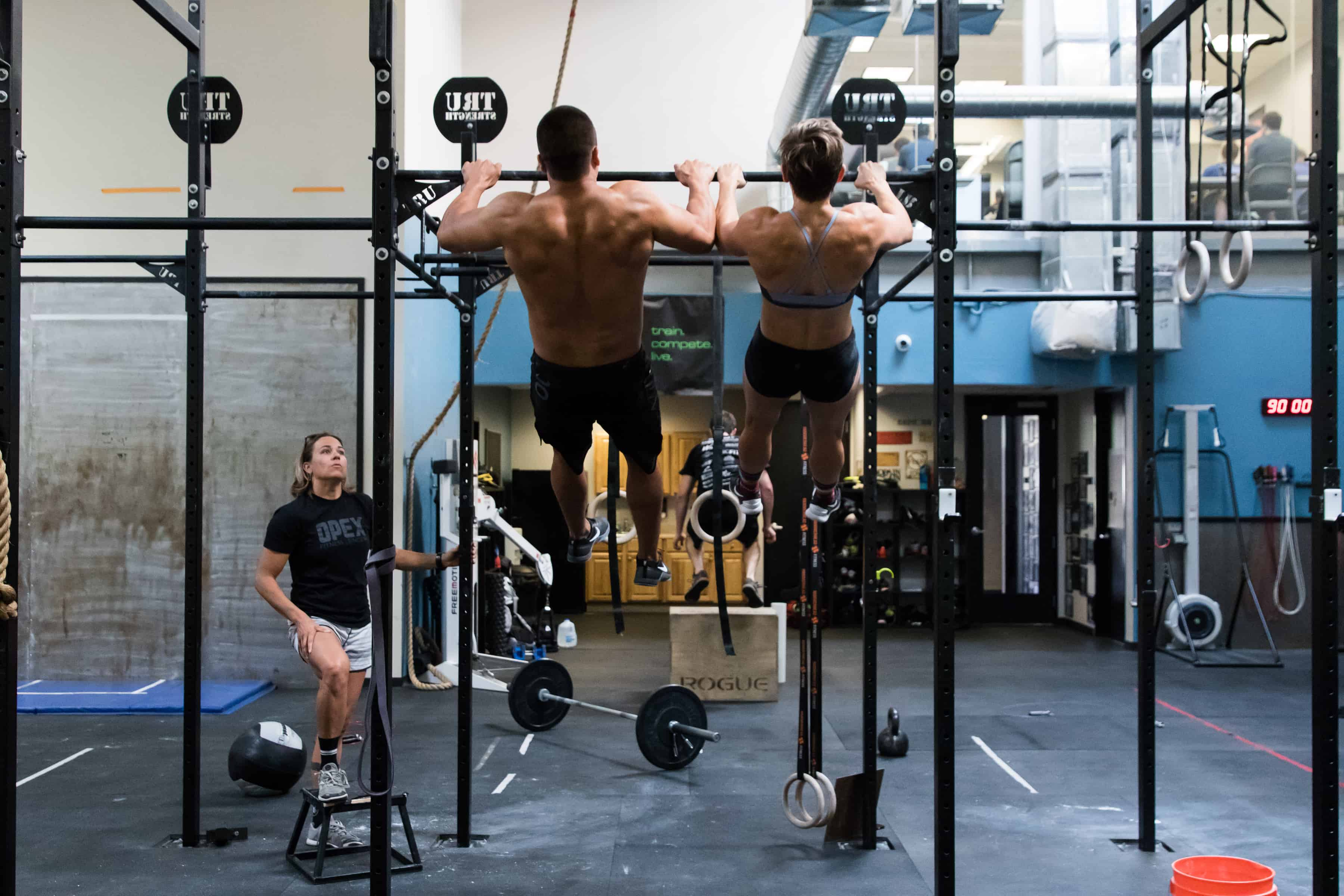 Hanging Bicep Curl or Pull-Up?