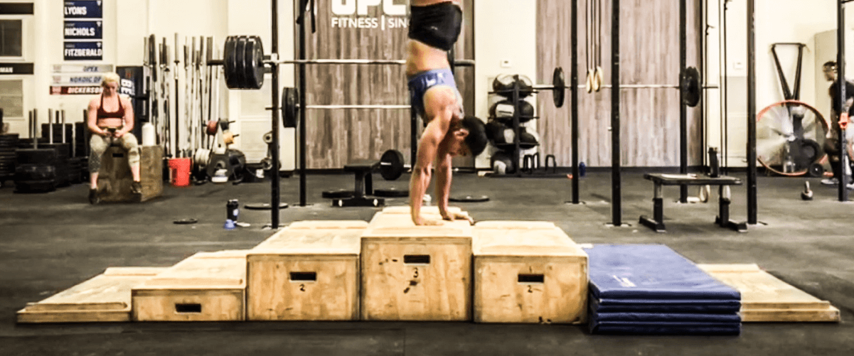 New Handstand Walk Obstacle Course
