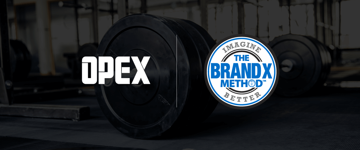 OPEX Fitness and Brand X to Partner