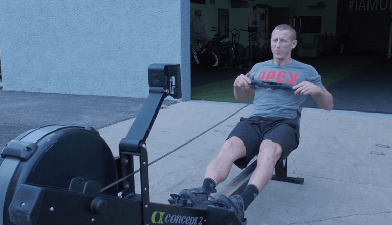 How to breathe on the Concept 2 Rower