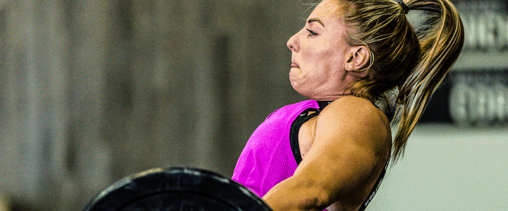Tennil Reed's CrossFit Games Training Thursday May 17, 2018