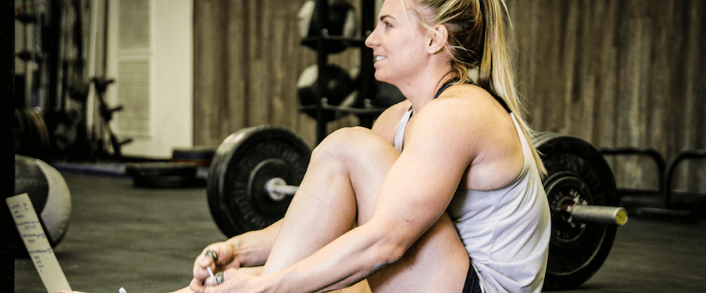 Tennil Reed's CrossFit Games Training Sunday April 29, 2018
