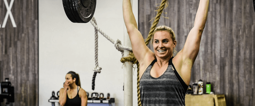 Tennil Reed's CrossFit Games Training Tuesday March 27, 2018