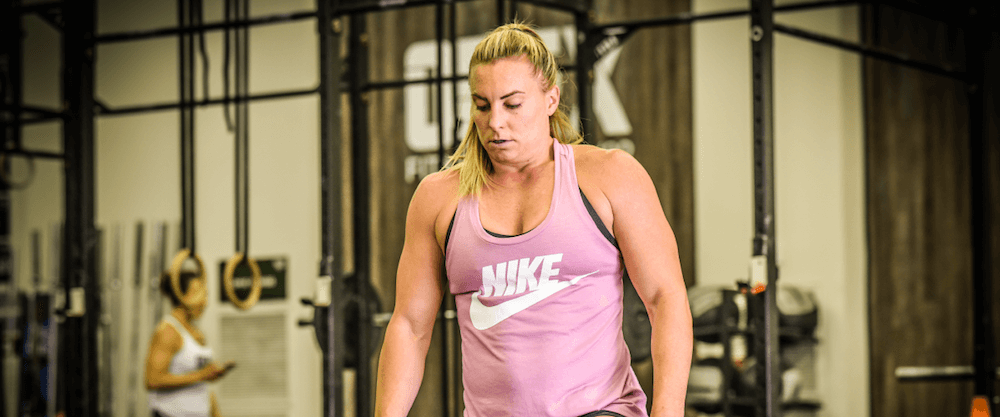 Tennil Reed's CrossFit Games Training Wednesday May 9, 2018