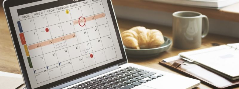 How to Schedule Weekly Training Sessions