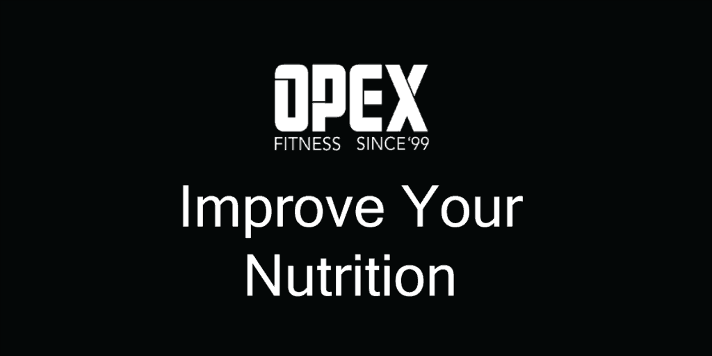 Improve Your Nutrition