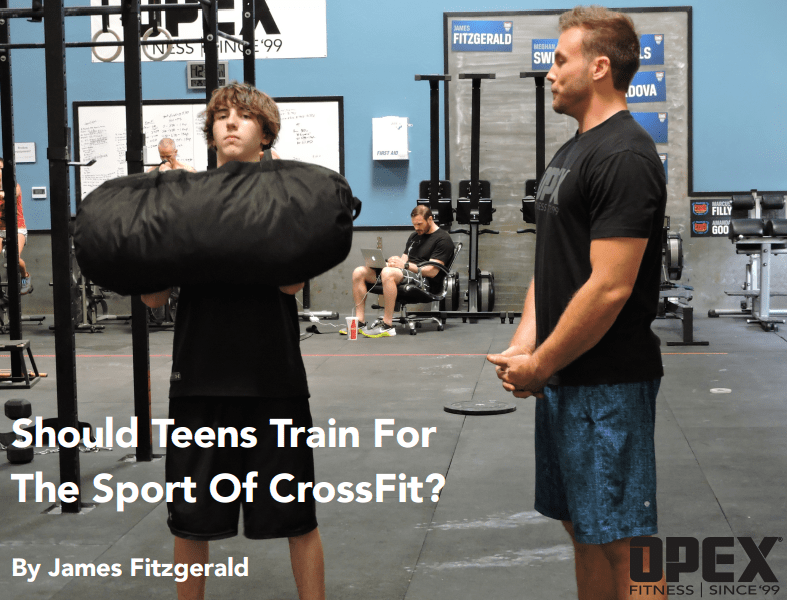 Should Teens Train for The Sport of CrossFit?