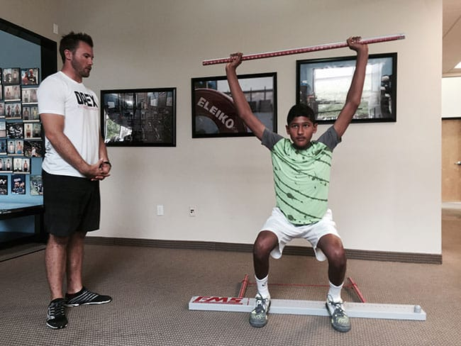 Core Control for Strength and Power in Athletics