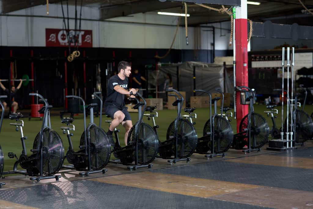 Energy System Training for the Airbike