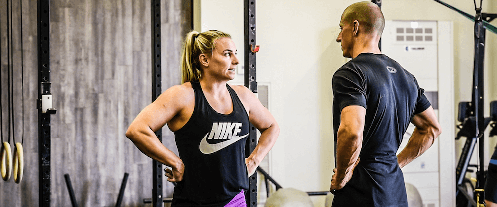 Tennil Reed's CrossFit Games Training Wednesday March 28, 2018