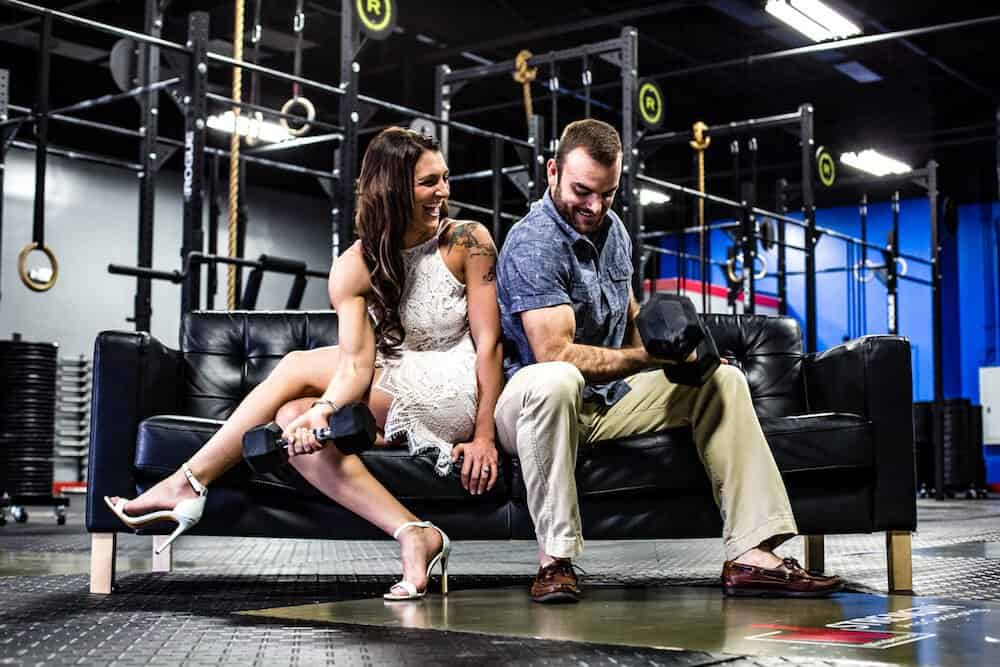 United By Fitness: A Marriage Proposal at OPEX Horizon West