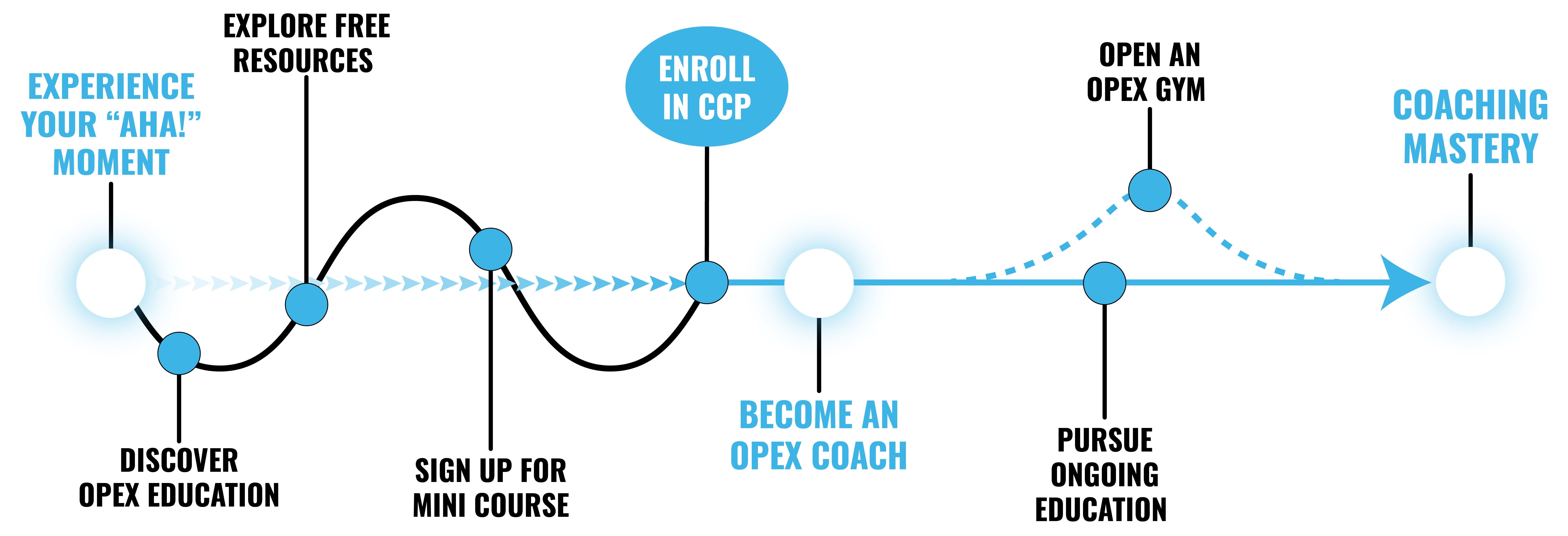 OPEX fitness coaching mastery pathway