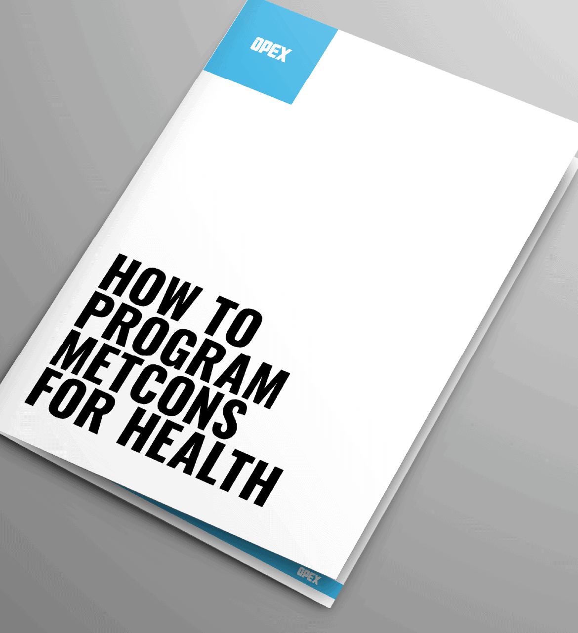 How to Program Metcons for Health