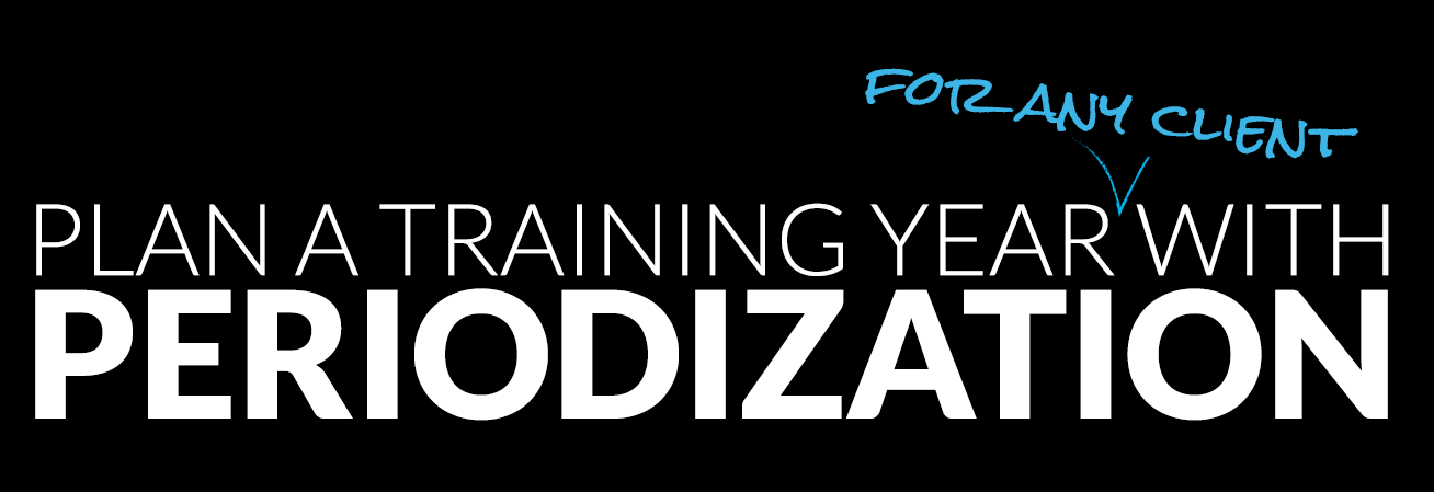 Plan a Training Year with Periodization
