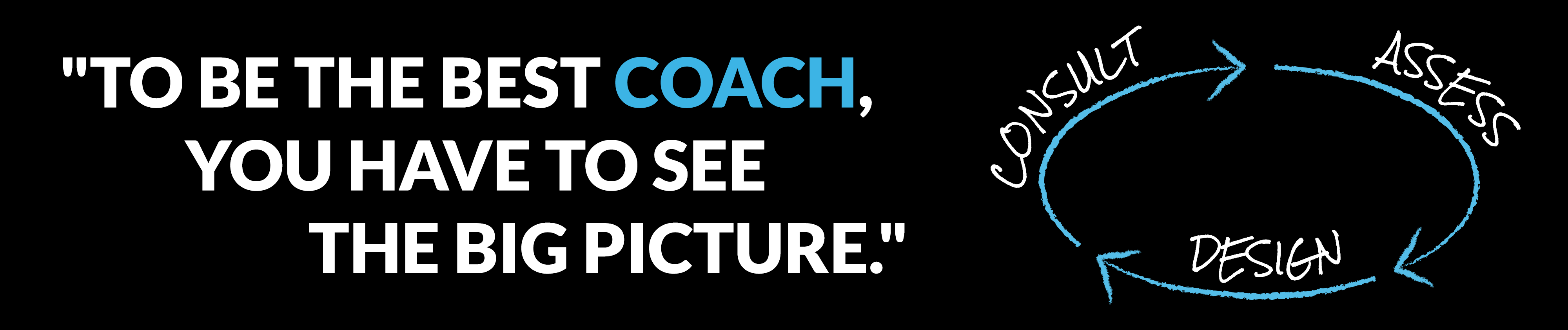 To be the best coach...