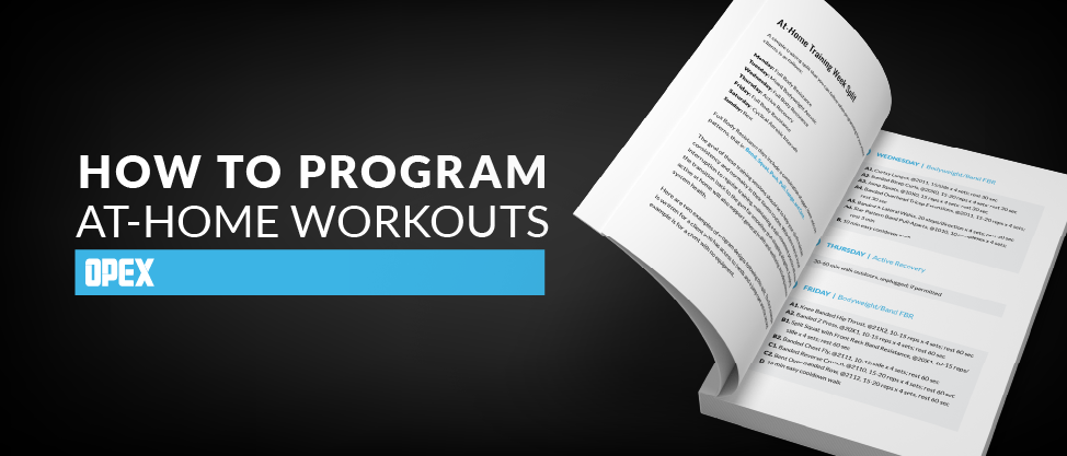 Program At-Home Workouts