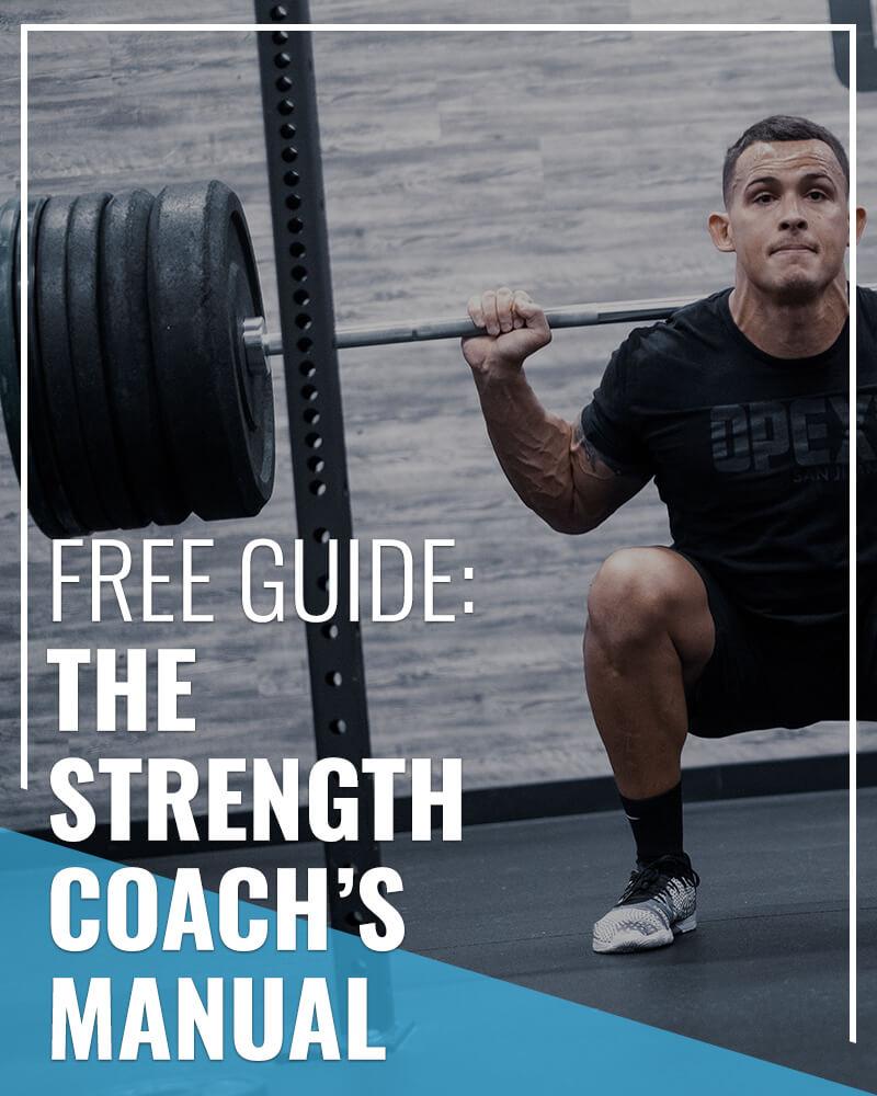 Strength Coachs Manual Free Resource