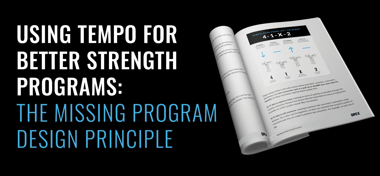 Using Tempo For Strength Guide