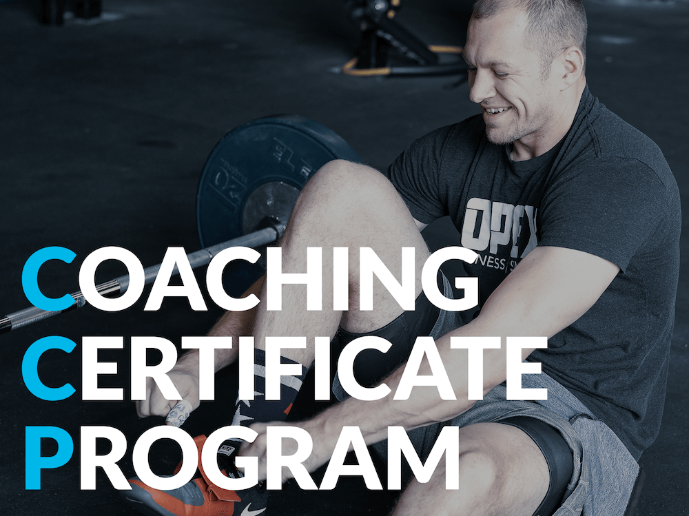 OPEX Coaching Certificate Program Enroll